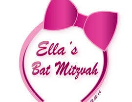 nº 46 pour Design a Logo for my daughter's bat mitzvah par tiselisa
