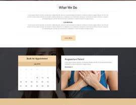 bestwebthemes tarafından Design a Website Mockup For an Acupuncture Clinic için no 25