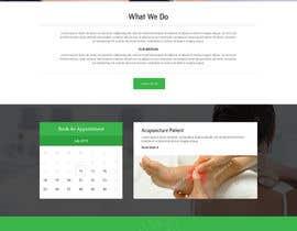 bestwebthemes tarafından Design a Website Mockup For an Acupuncture Clinic için no 30