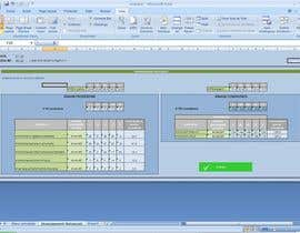 #3 untuk Excel graphical artist needed to beautify some Excel sheets :) oleh MajaSucic