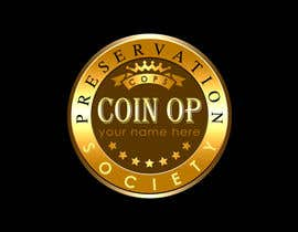 nº 32 pour Design a Logo for Coin Op Preservation Society par Precioussco