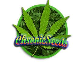 #14 para Design a Logo for Chronic Marijuana Seeds por Masma