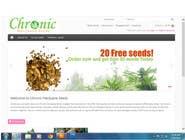 Graphic Design Kilpailutyö #30 kilpailuun Design a Logo for Chronic Marijuana Seeds