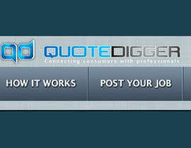 #247 для Logo Design for Quotedigger от greatdesign83