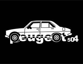 #6 for Design a Peugeot 504 T-Shirt 2 by burhandesign