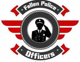 Nro 21 kilpailuun Police Supporter Flag/Graphic Design käyttäjältä vishingangel