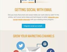 Nro 5 kilpailuun Design email campaign käyttäjältä krrish250
