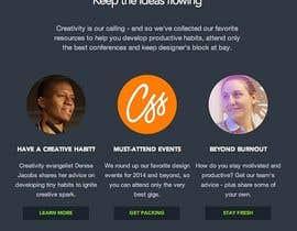 Nro 7 kilpailuun Design email campaign käyttäjältä krrish250