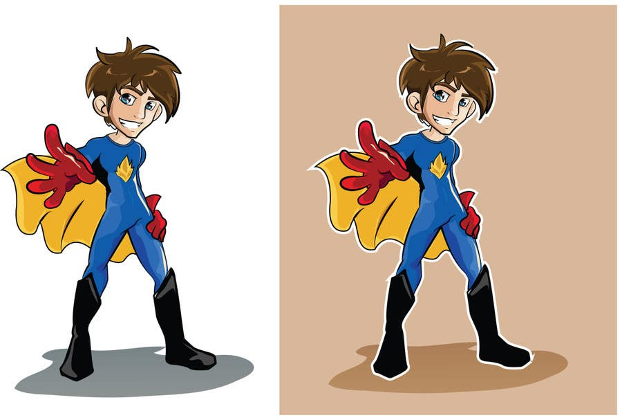 Inscrição nº 16 do Concurso para Design an awesome vector logo for a superhero character -