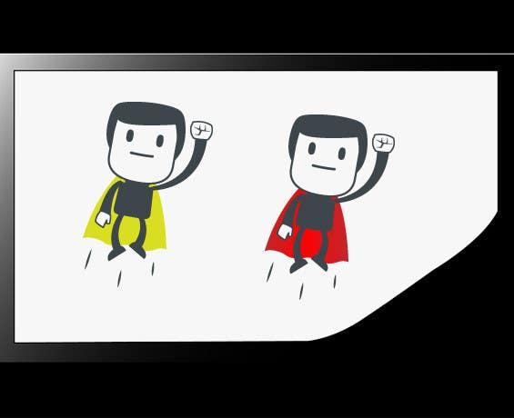 Bài tham dự cuộc thi #                                        1                                      cho                                         Design an awesome vector logo for a superhero character -