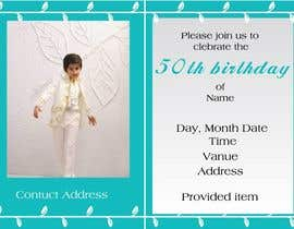 #4 para Birthday Invitation Card - timeframe 1 day! por SharifHasanShuvo