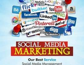 Nro 1 kilpailuun Social Media Marketing Flyer käyttäjältä dekaszhilarious