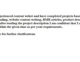 #1 para Content Writing for a JV in the Gold IRA Niche por Yoosuf009