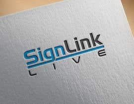 Nro 29 kilpailuun Sign Link Live käyttäjältä Khandesign11
