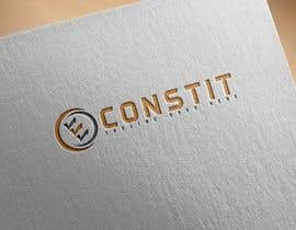 Nro 112 kilpailuun Concevez un logo ECONSTIT käyttäjältä JaizMaya