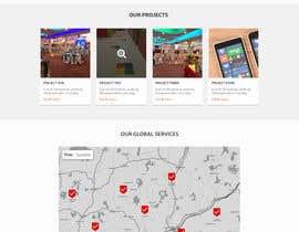 Nro 8 kilpailuun Design A Webpage Mockup käyttäjältä shakilui