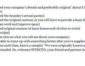 priya96411 tarafından Company Web Content Writing için no 6