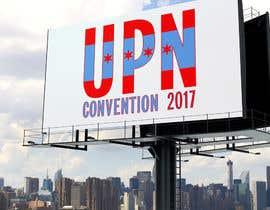 Nro 137 kilpailuun UPN Convention 2017 Logo and UPN graphic käyttäjältä danik1900