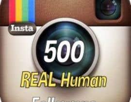 Nro 9 kilpailuun Instagram followers käyttäjältä vonmagnayon