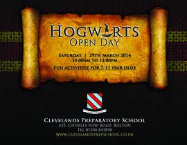 #17 for Design Flyer for School Open Day by cahjavinar