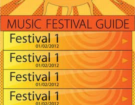 Nro 1 kilpailuun Graphic Design for Music Festival Guide (iPhone Application) käyttäjältä iconwebservices
