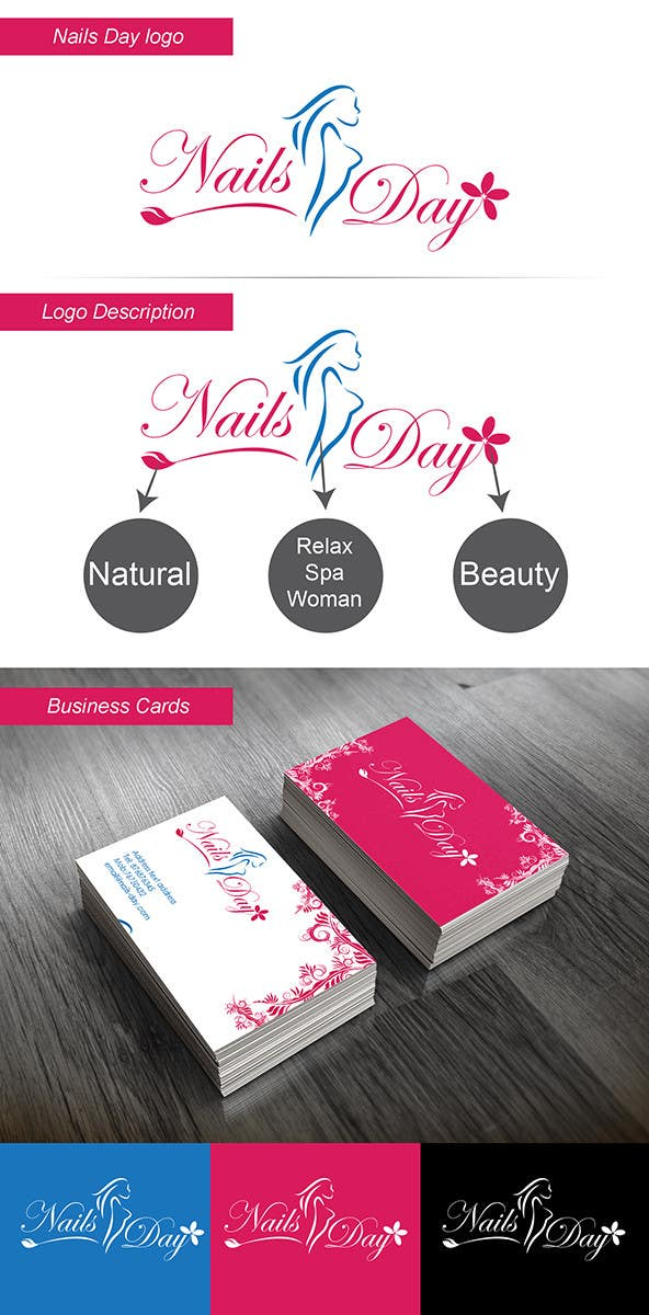 Inscrição nº 8 do Concurso para Develop & Design a Brand New Corporate Identity for Nail Salon