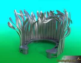 Nro 10 kilpailuun Create 3D drawing from hand sketch of proposed sculpture käyttäjältä ScoutingNinja3rd