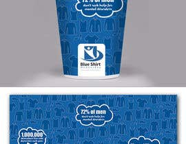 #15 for Design a label (print) for a disposable coffee cup by m99