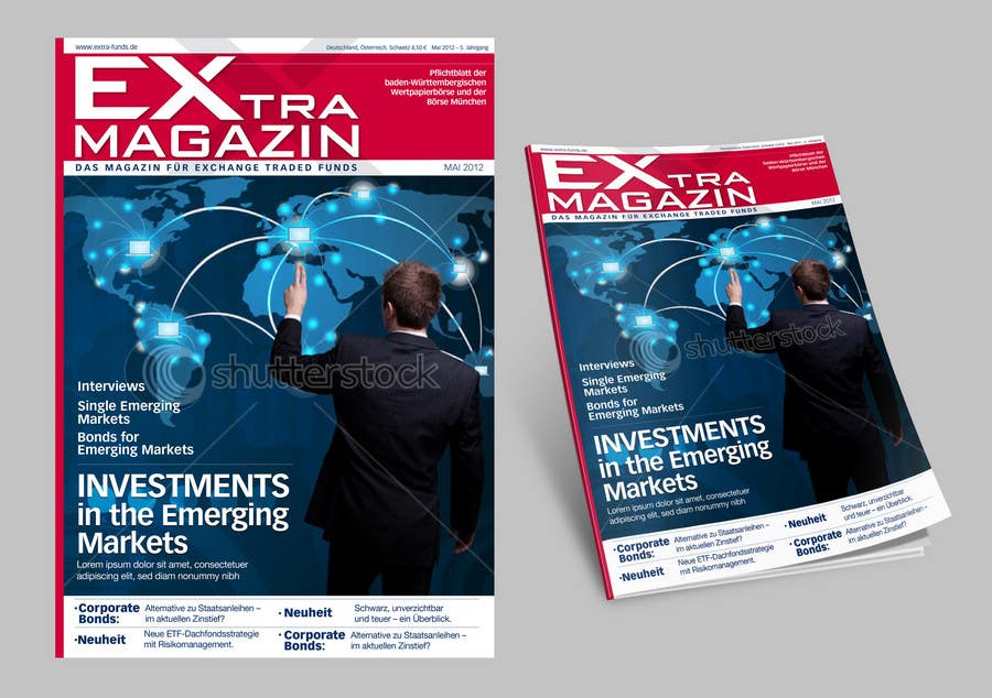 #25 for Cover Redesign for EXtra-Magazin by dizajnline