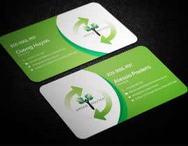 #36 for Design some Business Cards green routes by smartghart