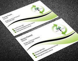 #52 for Design some Business Cards green routes by angrybird2016