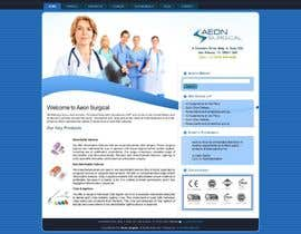 #3 para Build a Website for AEONSurgical por mynk16