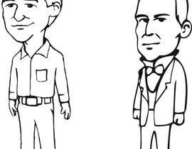 #19 cho Cartoon Drawing of Cesar Chavez and Benito Juarez bởi victorshade9999