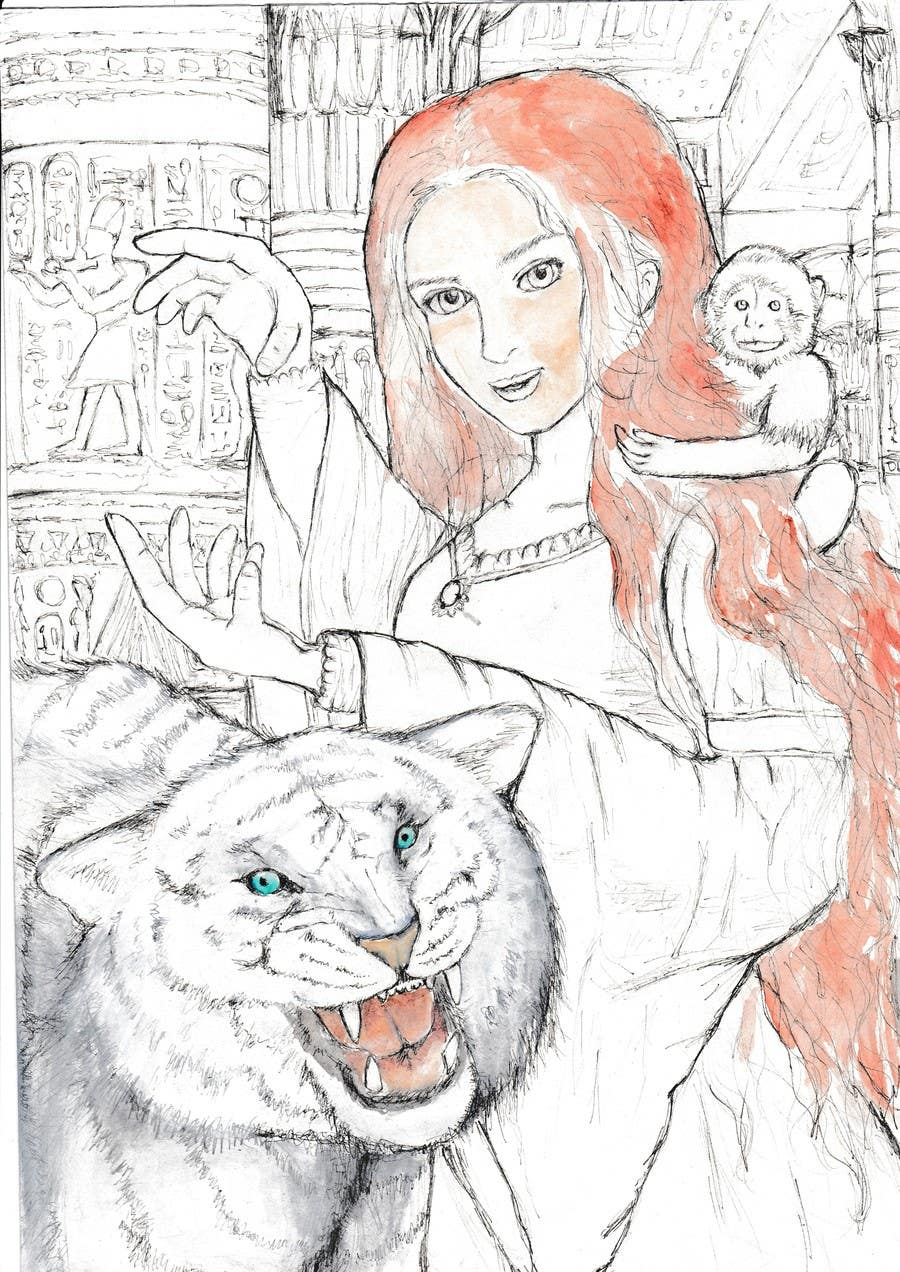 Contest Entry #                                        27                                      for                                         Illustrate for Pandora Chronicles