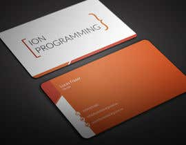 BikashBapon tarafından Design Business Cards for Ion Programming için no 64