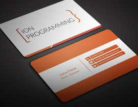 BikashBapon tarafından Design Business Cards for Ion Programming için no 70