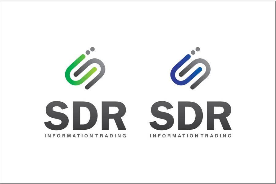 Bài tham dự cuộc thi #                                        83                                      cho                                         Logo Design for SDR Information Trading