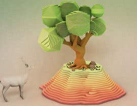 ricardor3000 tarafından 3D Low Poly Landscape with a nice Tree için no 5