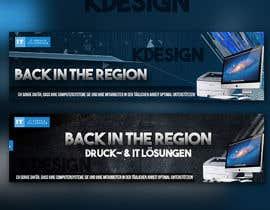 kayd29 tarafından Design of one or two banner for startpage of a website için no 4