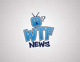 Nro 38 kilpailuun Design a logofor WTF News käyttäjältä amrowahpa