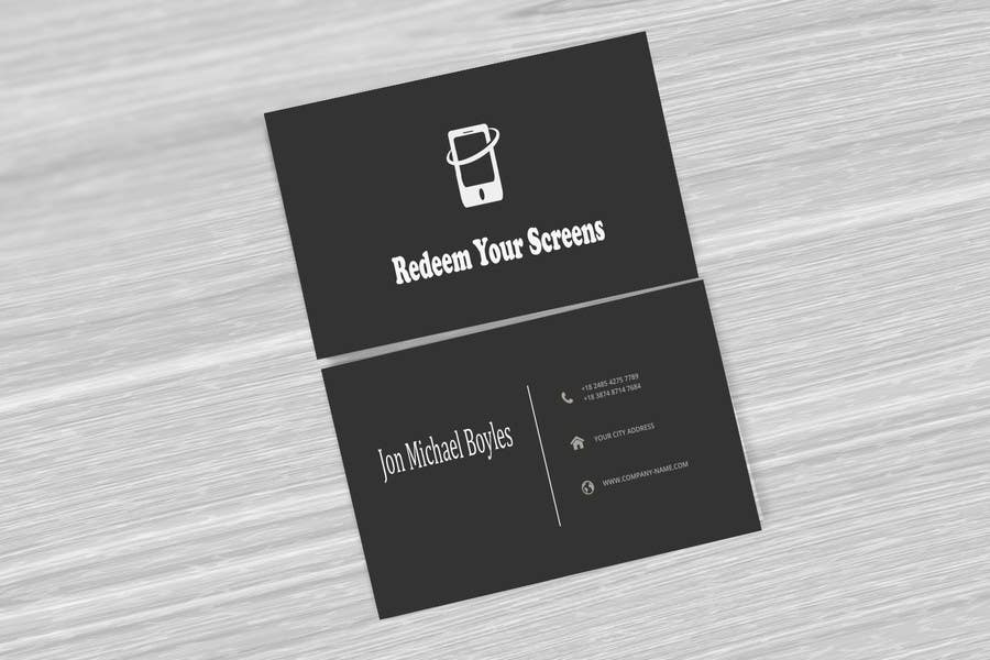 Entry 3 By Promasadia For Design Some Business Cards For A Broken