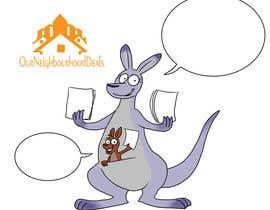 Nro 8 kilpailuun design a kangaroo mascot for company käyttäjältä Tzologeist