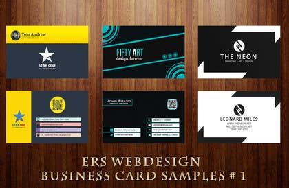 Graphic Design Contest Entry #2 for Design Some Business Cards