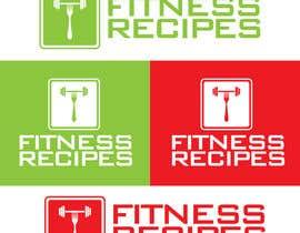 Nro 3 kilpailuun Design a Logo for Fitness Recipes käyttäjältä agdesigners
