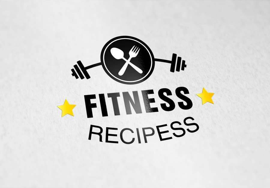 Kilpailutyö #29 kilpailussa Design a Logo for Fitness Recipes