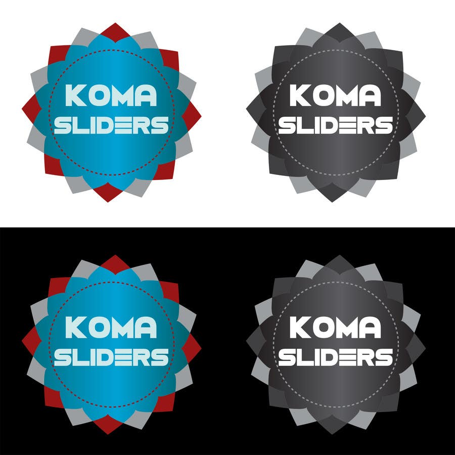 #15 for Develop a Corporate Identity for Koma Sliders by IllusionG