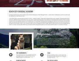 Nro 24 kilpailuun Design a long scrolling homepage website mockup käyttäjältä zafarchromatics