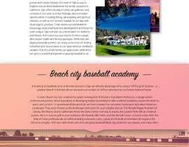 VictorNov tarafından Design a long scrolling homepage website mockup için no 17