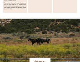 Nro 23 kilpailuun Design a long scrolling homepage website mockup käyttäjältä hairenuka