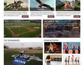 Nro 28 kilpailuun Design a long scrolling homepage website mockup käyttäjältä imranwebdesigner